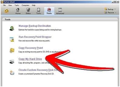 cloner disque dur étape 4
