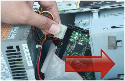 fix hard drive error code 0142 step 4