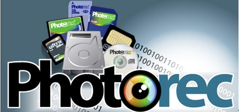 recover data from memory card with PhotoRec