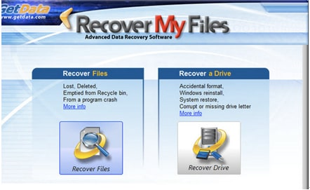 recover data from memory card with Recover My Files software