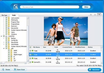 how to recover files from a raw drive