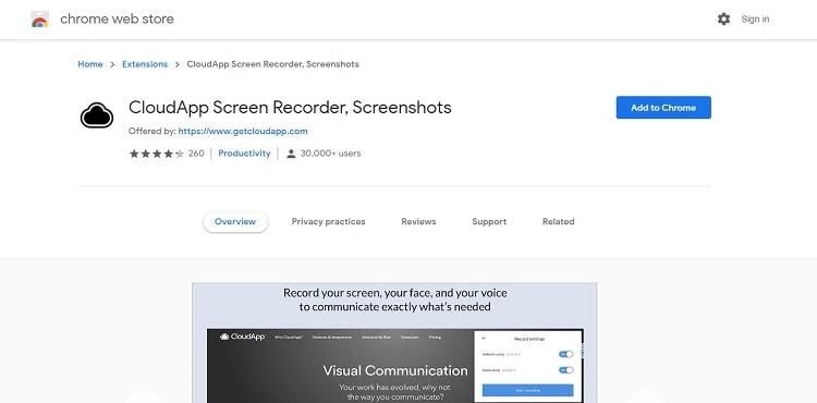 cloudApp-recorder