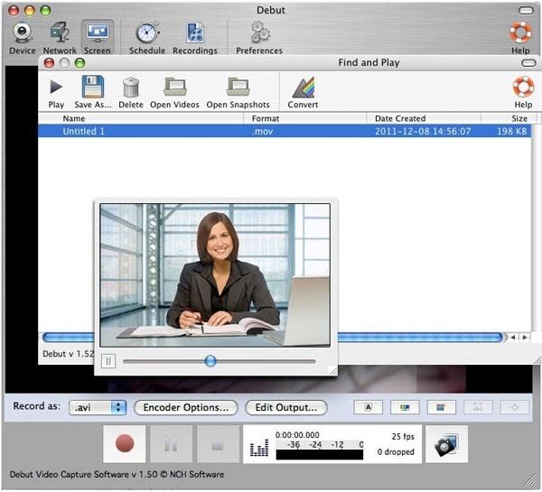 webcam-debut