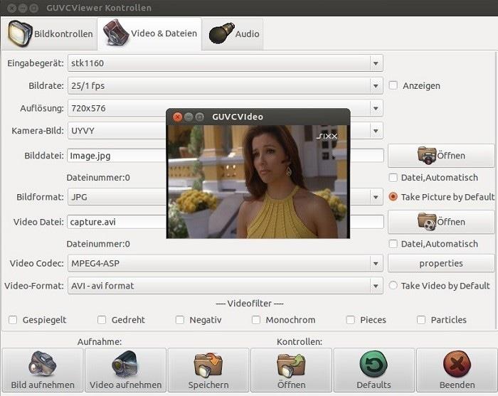 webcam-duvcview