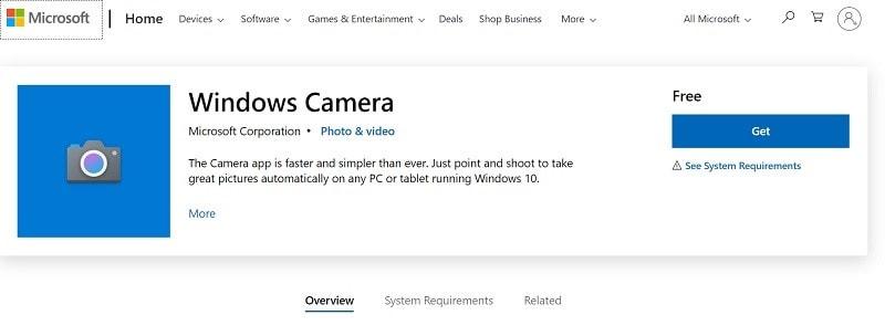 webcam-windowscamera