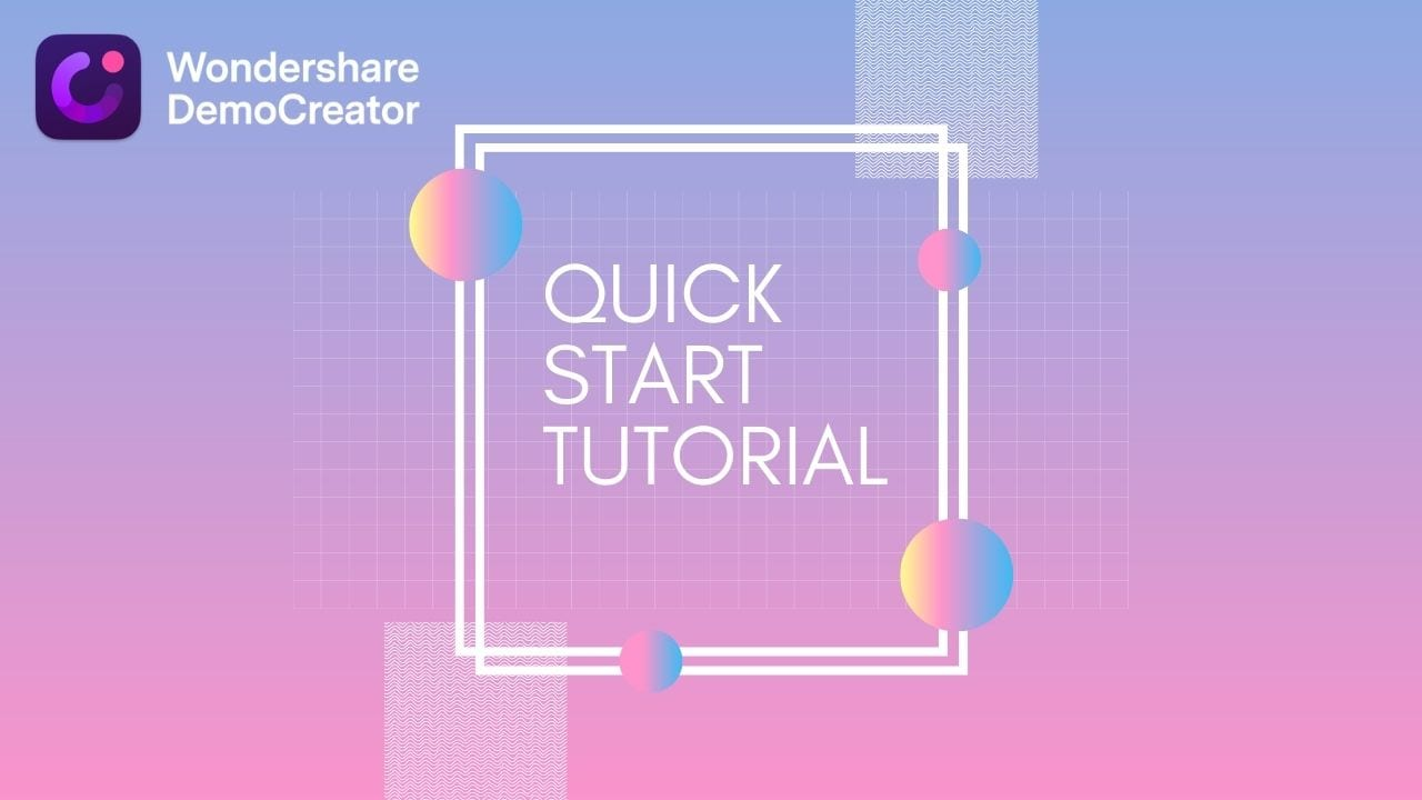 quick start tutorial