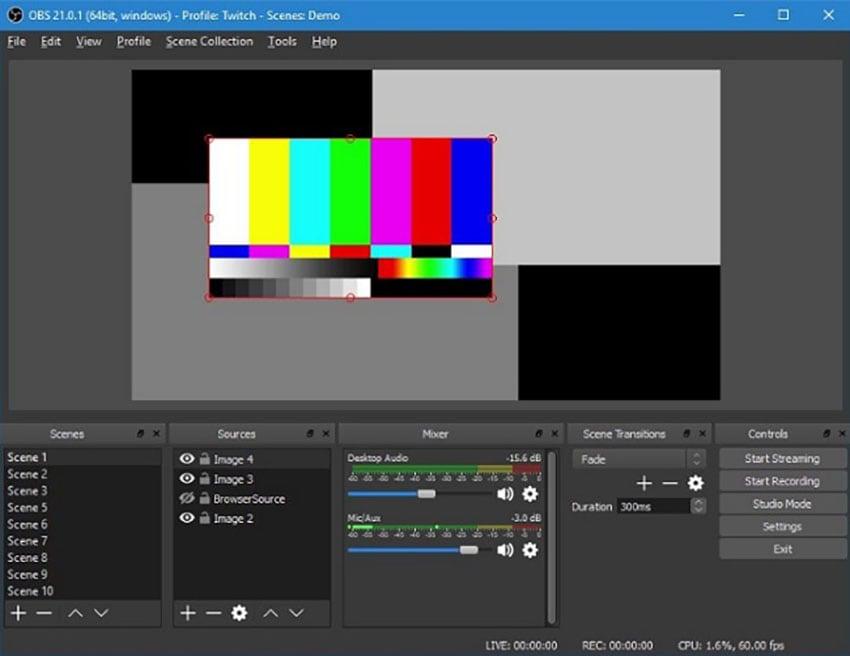 Open Broadcaster Software-Studio