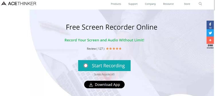acethinker screen recorder download