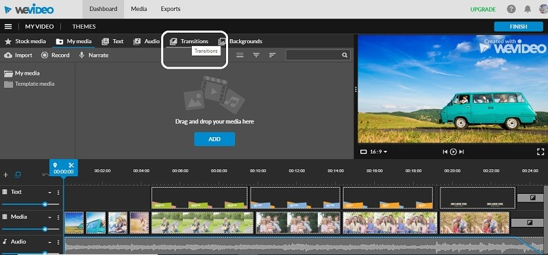 add-transitions-to-a-video-online