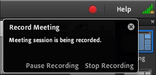 recorded meeting sessions