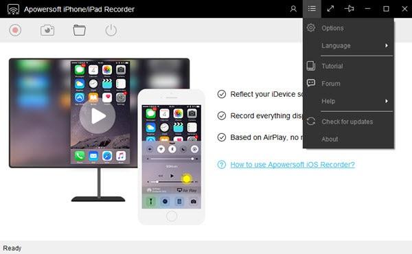 apowersoft ipad screen recorder