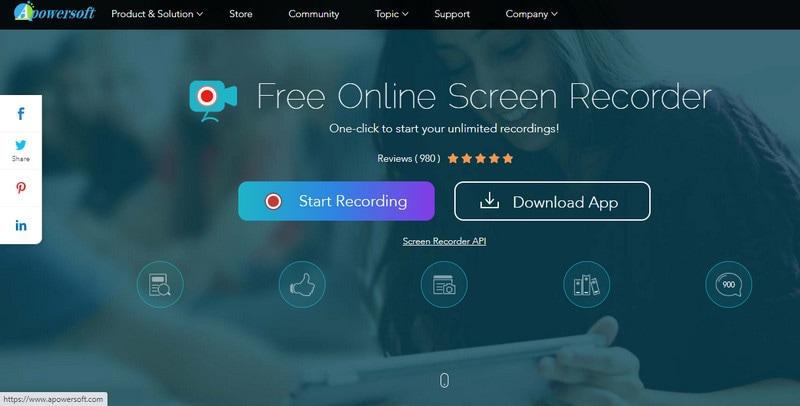 apowersoft free online recorder