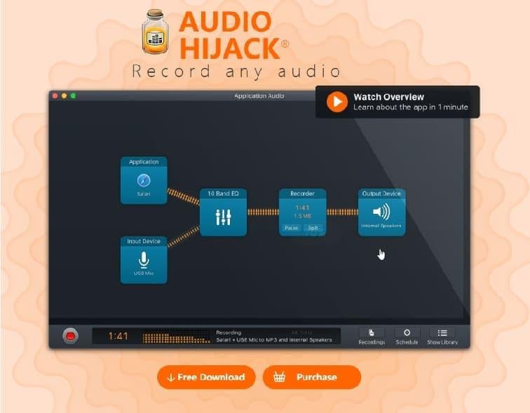 audio hijake