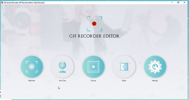 run az screen recorder on pc