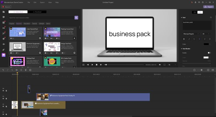 business effects pack