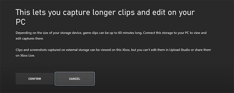 capture longer clips
