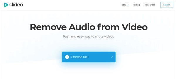 clideo-audio-remover