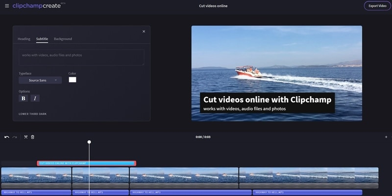 clipchamp screen recorder