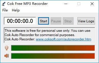 cok free mp3 recorder