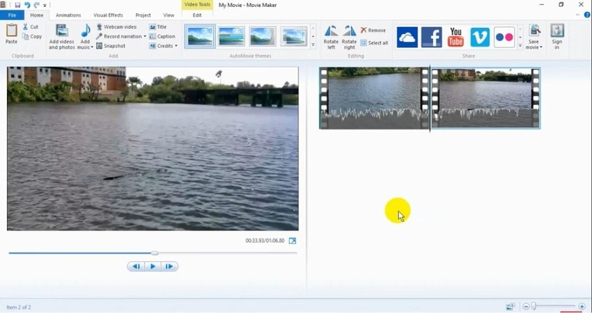 combine videos together windows movie maker
