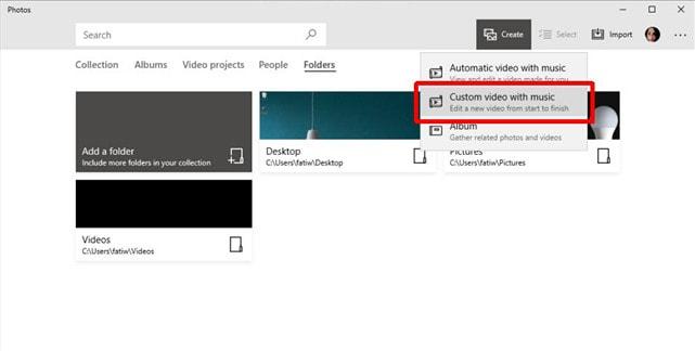 combine videos windows10