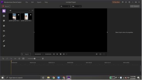 combine youtube videos in democreator