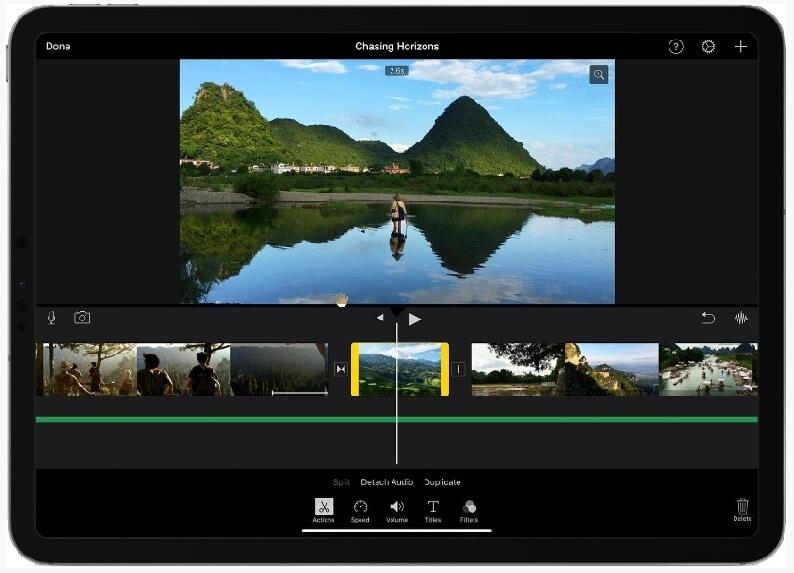 imovie merge videos