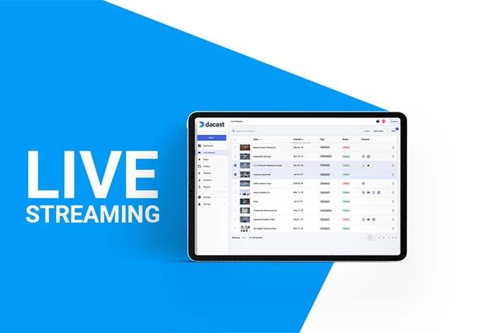 dacast live stream