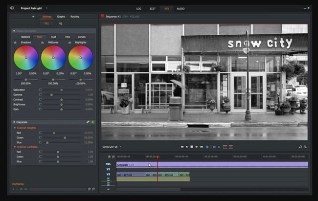 deep color grading