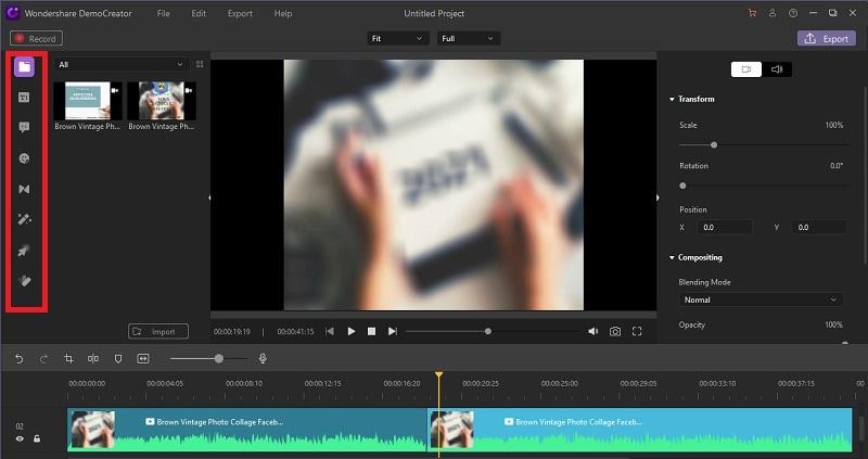 democreator join videos step 4