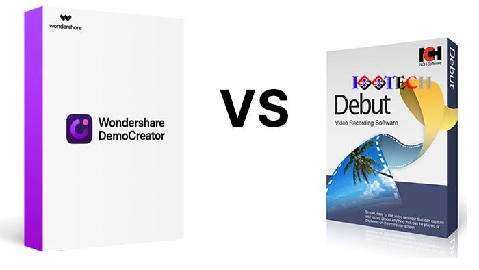 DemoCreator vs Debut