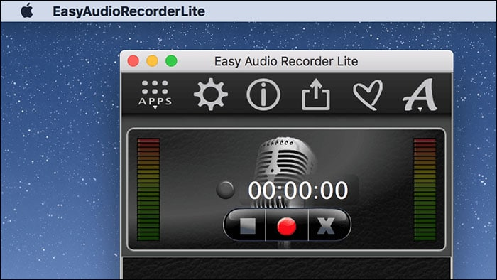 easy audio recorder lite mac