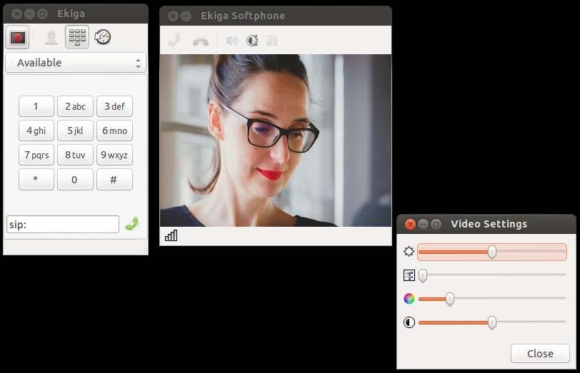 ekiga webcam recorder