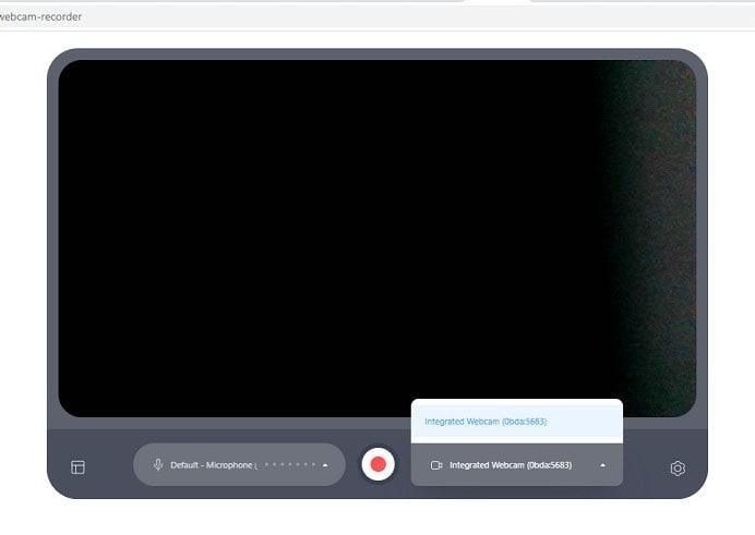 enable veedio webcam