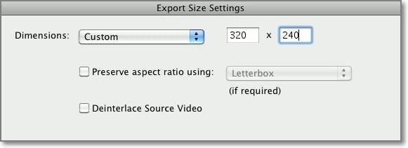 export video imovie