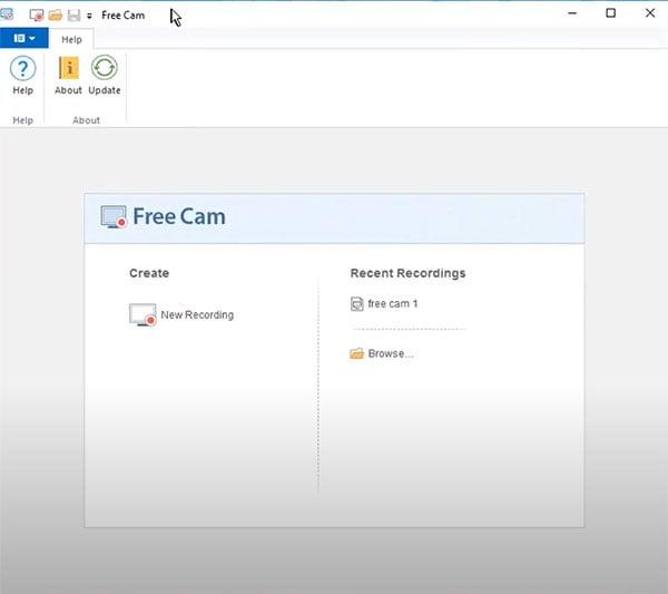 launch freecam