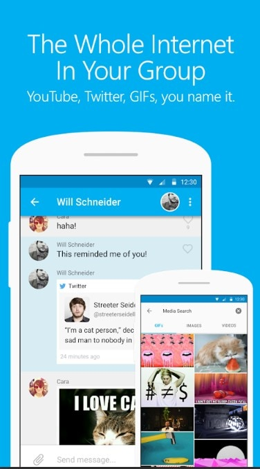 groupme android gif screen recorder