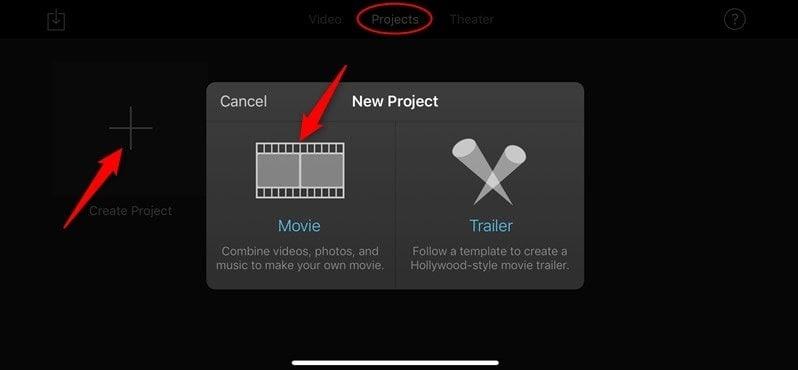 how to split video on imovie
