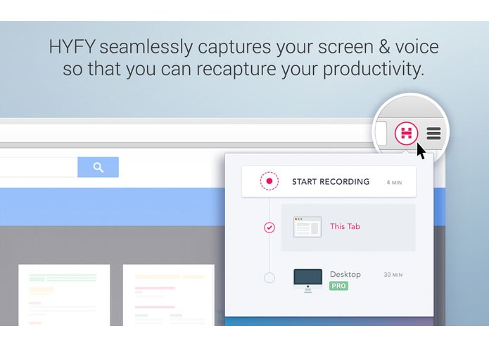 hyfy screen recorder