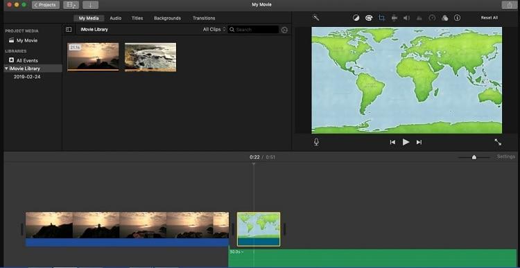 edit videos imovie