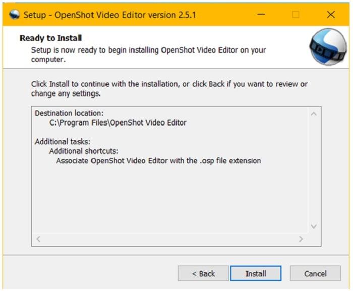 install openshot