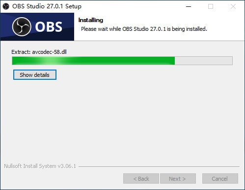 installing obs recorder