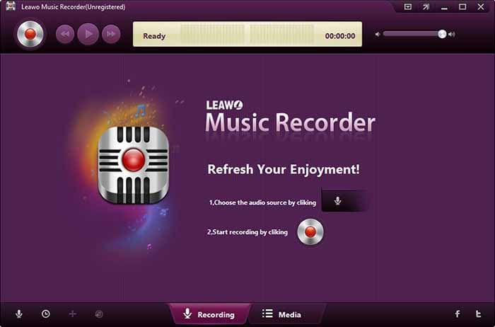 leawo audio recorder