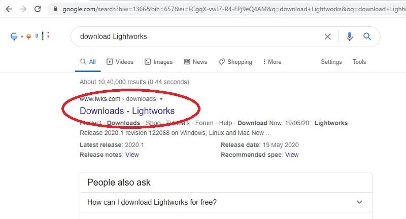 lightworks website