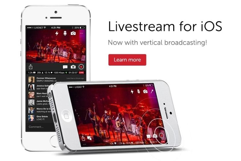 livestream for ios