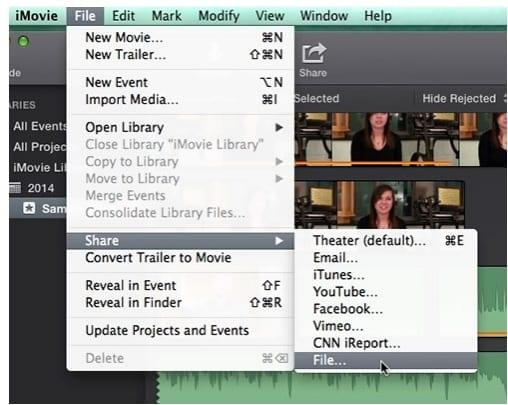 merge videos together step5