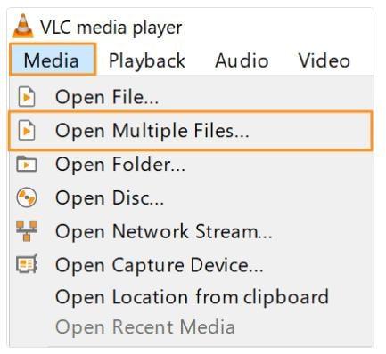 merge videos vlc01