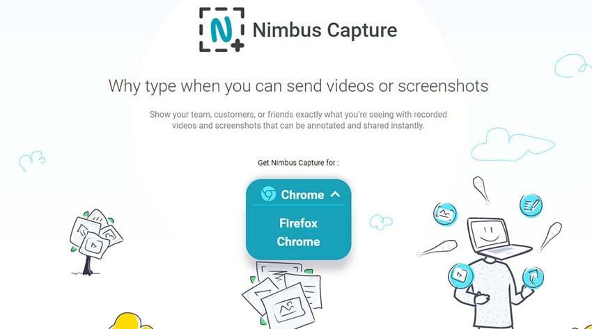 nimbus screen recording software