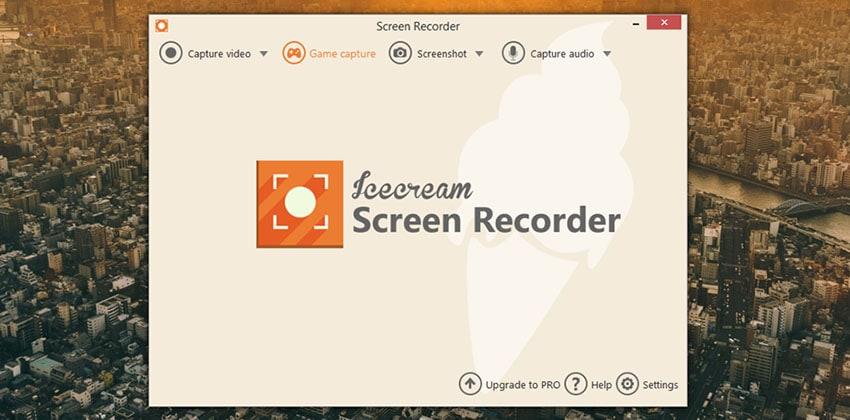 grabadora de pantalla icecream