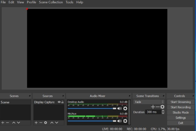 ods studio screen recorder with audio